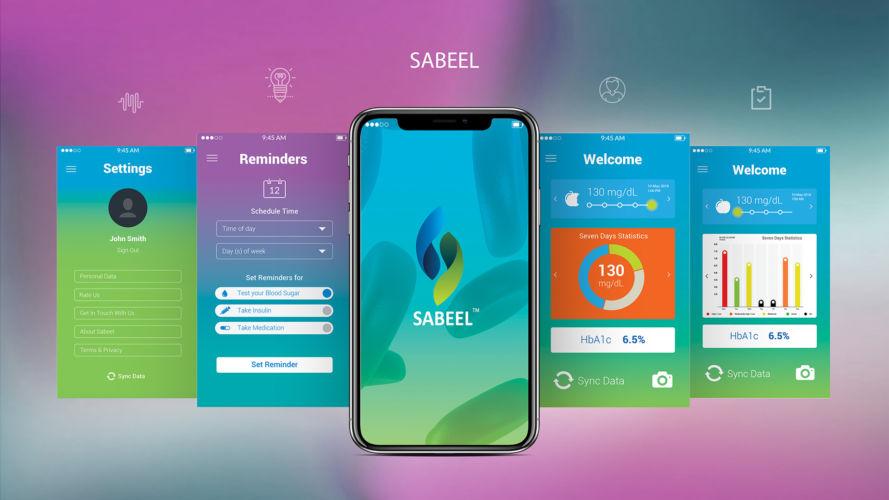 Sabeel UI Design