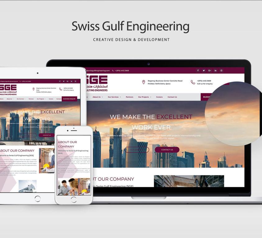 Web Design Swiss Gulf
