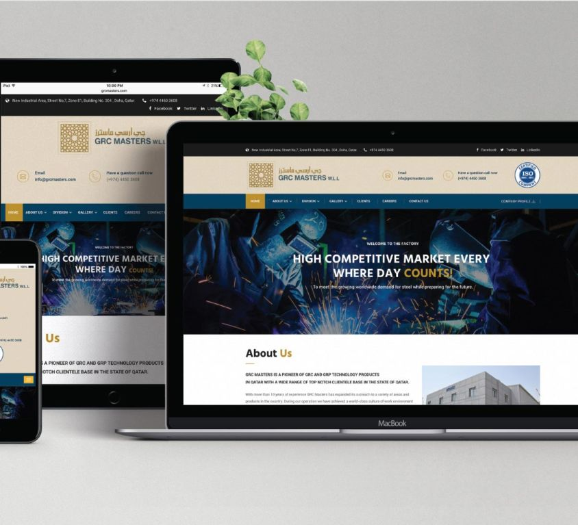 GRC Masters – Website Design & Development